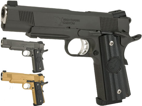 RWA Steel CO2 Powered Limited Edition Nighthawk GRP Recon Airsoft Pistol