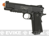 RWA Full Metal Nighthawk Custom Recon CO2 Powered Blowback Airsoft Pistol - Black