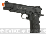 RWA Full SPS Falcon CO2 Powered Blowback Airsoft Pistol - Black