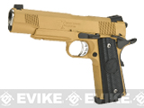 RWA Steel CO2 Powered Limited Edition Nighthawk GRP Recon Airsoft Pistol (Finish: Gold Cerakote)