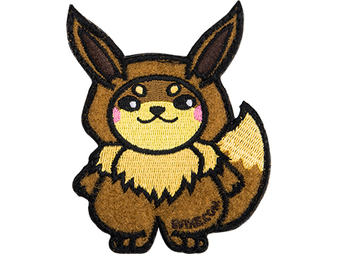 Evike.com The DOGE Hook & Loop Morale Patch (Style: Eevee)