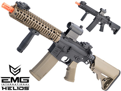 EMG Helios Daniel Defense Licensed MK18 Airsoft AEG Rifle