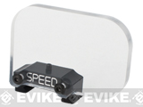 z SPEED Airsoft Horizontal Rectangle Optic BB Shield