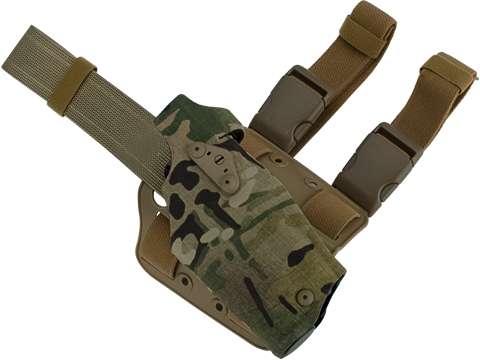 Safariland 6354DO ALS Optic Tactical Holster for Pistols with Red Dot Optic (Model: Glock 17/22 with M3 Weapon Light / Multicam / Right Hand)
