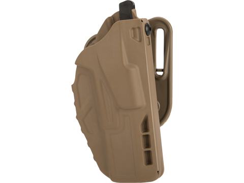 Safariland 7377 7TS� ALS� Concealment Belt Slide Holster (Model: Glock 17, 22 / Flat Dark Earth / Right Hand)