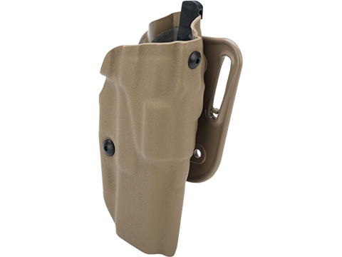 SAFARILAND 6377 ALS Belt Holster (Type: GLOCK 17 / Dark Earth / Right Handed)