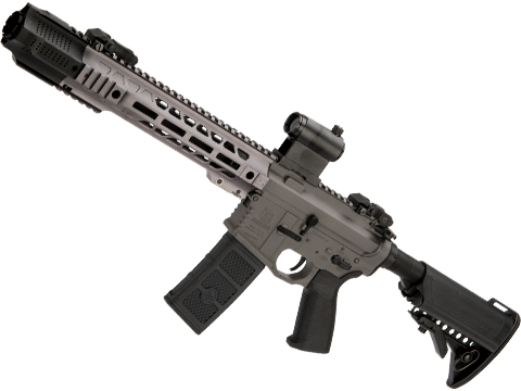 EMG / SAI Licensed GRY AR-15 AEG Training Rifle w/ JailBrake Muzzle w/ GATE ASTER Programmable MOSFET (Configuration: SBR / Grey Non-ITAR)