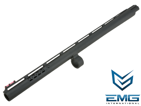 EMG Licensed SAI 19 Aluminum M870 Barrel with Fiber Optic Front Sight