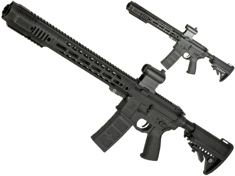 (10 MAGAZINE BUNDLE DEAL) EMG / SAI GRY AR-15 AEG Training Rifle w/ JailBrake Muzzle