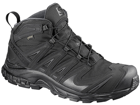 Salomon XA Pro 3D MID GTX® Forces 2 Tactical Boots (Color: Black / Size 9)
