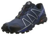 Salomon SpeedCross 4 Forces Running Shoes - Slate Blue (Size: 9)