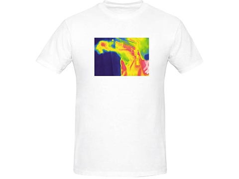 Salient Arms Thermal Fart Screen Printed Cotton T-Shirt
