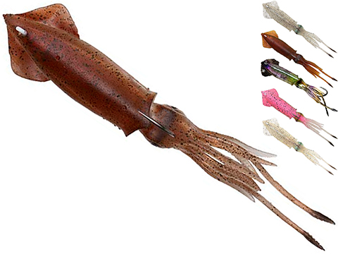 Savage Gear Savage Salt TPE 3D Swim Squid (Color: Brown UV / 124g / 1pc)