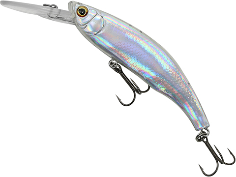 Savage Gear 3D Minnow Diver Fishing Lure (Color: Ready To Paint Foil / 7.5cm)