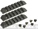 Silverback Airsoft Rail Segments for Desert Tech SRS Series Airsoft Sniper Rifles - Set of 3
