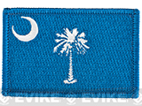 Evike.com Tactical Embroidered U.S. State Flag Patch (State: South Carolina The Palmetto State)