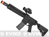 SOCOM Gear Daniel Defense MK18 9.5 Tactical M4 SBR Airsoft AEG Rifle w/ Noveske KX3 Muzzle Brake - Black