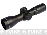 AIM 4x30 R.S. P4 Sniper Compact Rifle Scope (Fog / Shock proof w/ Sapphire coated lens.)