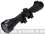 Matrix Rubber Armored 3-9x40 Illuminated Scope w/ Scope Rings