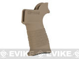 Stark Equipment ANG SE1 Grip for M4 / M16 Series Airsoft GBB and Real Steel AR15 Rifles - Earth
