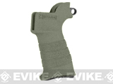 Stark Equipment ANG SE2 Grip for M4 / M16 Series Airsoft GBB and Real Steel AR15 Rifles - Sling Hook / Green