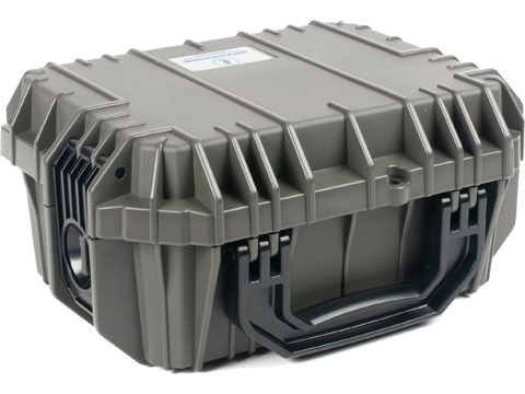Seahorse SE430  Tactical Case with Foam and Lock (Color: Gun Metal)