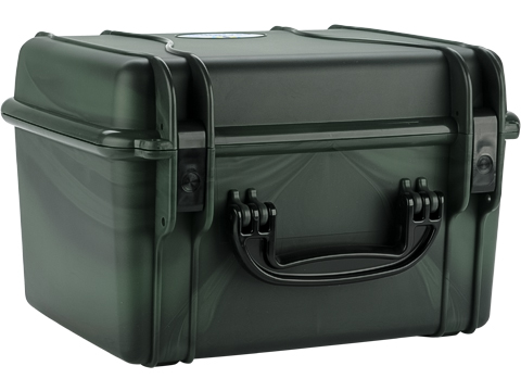 Seahorse SE540 Waterproof Tactical Case with Foam(Color: Forest Camo)