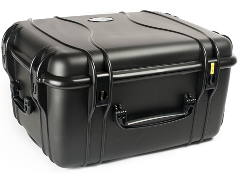 Seahorse SE1220 Rolling Tactical Case with Foam (Color: Black)