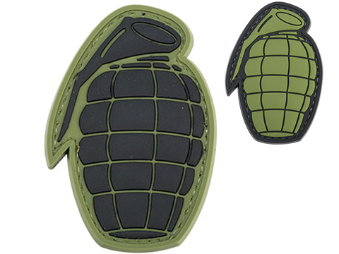 Matrix Pineapple Grenade PVC Morale Patch
