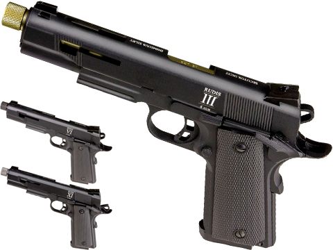 Secutor Arms Rudis Series 1911 Gas Blowback Airsoft Pistol (Model: Model III)