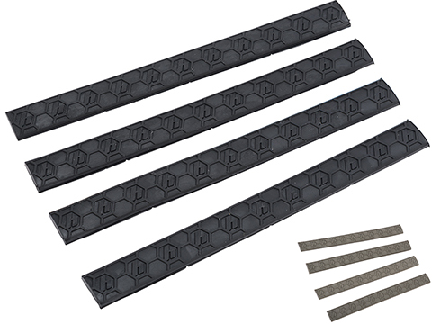 Hexmag M-LOK WedgeLok Slot Cover (Color: Black / 4 Pack)