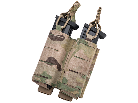 Sentry Staggered Column Double Pistol Magazine Pouch