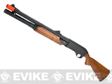 APS CAM870 Shell Ejecting Tactical Pump Action Gas Airsoft MKII Shotgun (Model: M870 Wood)