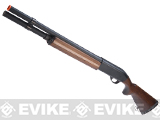 Maruzen M1100 Semi-Auto Shell Ejecting Airsoft Gas Shotgun - Wood