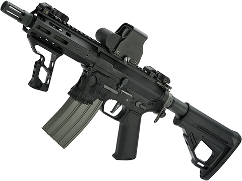 EMG / Sharps Bros Jack Licensed Full Metal Advanced M4 Airsoft AEG Rifle (Color: Black / 7 SBR)