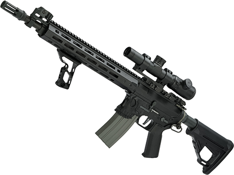 EMG / Sharps Bros Jack Licensed Full Metal Advanced M4 Airsoft AEG Rifle (Color: Black / 15 Carbine)
