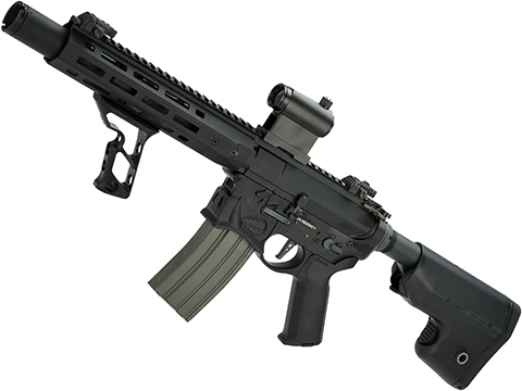 EMG / Sharps Bros Warthog Licensed Full Metal Advanced M4  Airsoft AEG Rifle (Color: Black / 10 SBR)