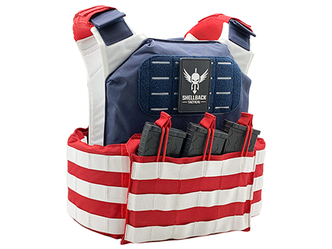 Shellback Tactical Stars and Stripes Plate Carrier