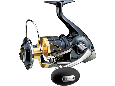 Shimano Stella SW Salt Water Spinning Fishing Reel (Model: 18000SW BHG)