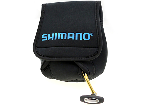 Shimano Neoprene Reel Cover (Size: Spinning / Medium)