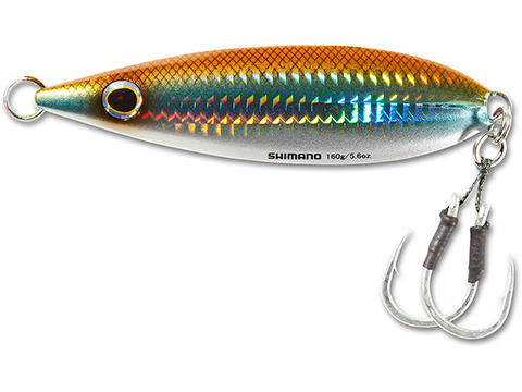 Shimano Butterfly Flat Fall Jig (Color: Sand Eel / 200g)
