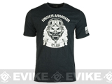 Under Armour Men's UA Freedom Air Force T-Shirt - Black (Size: X-Large)