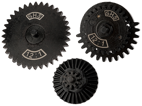 SHS CNC Steel High Speed Gear Set (Type: 12:1)