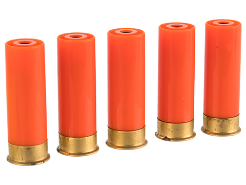 PPS Airsoft M870 Plastic Green Gas Shotgun Shells for PPS Shotguns (Package: Set of 5)