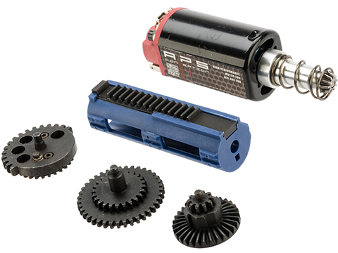 SHS High Power Package Set for Airsoft AEG Gearbox (Type: Long Type Motor / 13:1 Gears)