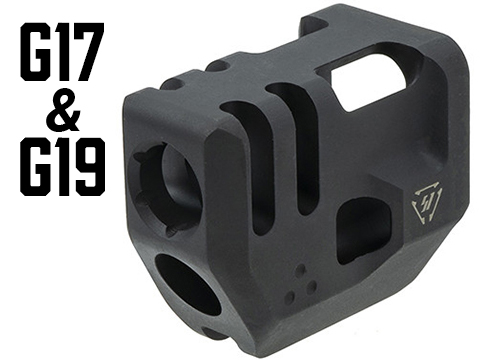 Strike Industries G3 Mass Driver Slide Mounted Compensator for Glock Gen 3 Pistols