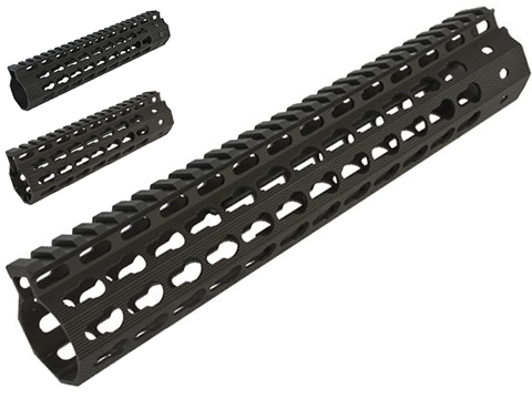 Madbull Airsoft Strike Industries Licensed MEGAFIN Keymod Handguard Rail