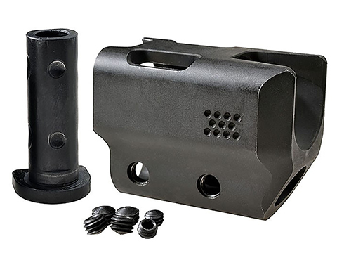 Strike Industries SlideComp Slide Mounted Compensator for Glock Gen 4 Pistols