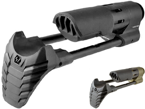 Strike Industries Rapid Deployment Viper PDW Stock for AR15 Rifles