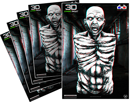 Strike Industries 3D Zombie Target (Type: 5 pack)